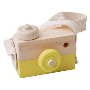Cute Wooden Camera By Our Smarter Toddlers