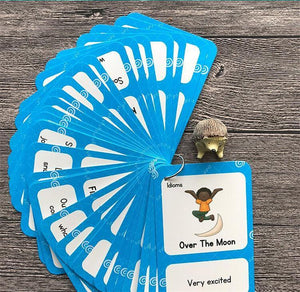 English Proverb Idioms Montessori Cards By Our Smarter Toddlers