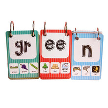 Learn English Phonics Cards- 128 pcs By Our Smarter Toddlers