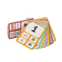 Numbers 0-100 / Letter ABC Baby English Learning cards By Our Smarter Toddlers