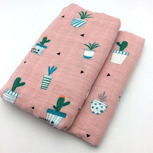 Organic Cotton Baby Swaddle/ Blanket By Our Smarter Toddlers