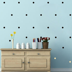 Polka Dot Wall  Stickers By Our Smarter Toddlers