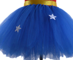 Superhero/Wonder Woman Halloween Costume for Girls