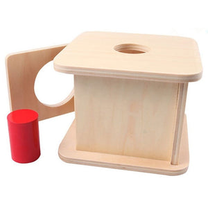 Montessori Cylinder Matching Box By Our Smarter Toddlers