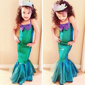 Little Mermaid Dress Halloween Costume By Our Smarter Toddlers