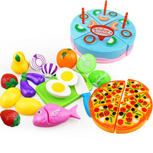 25PCS Children Kitchen Pretend Play By Our Smarter Toddlers