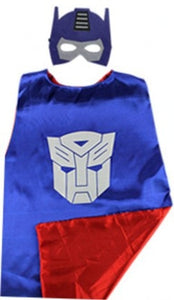 Superhero cape and masks - Halloween Costumes By Our Smarter Toddlers