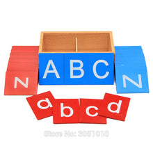 Montessori Sandpaper Letters Boxes By Our Smarter Toddlers