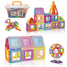 Magnetic Building Blocks (92/130/172 pieces) By Our Smarter Toddlers