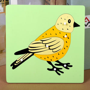 Montessori Educational Wooden Animal Puzzle