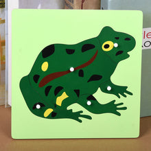 Montessori Educational Wooden Animal Puzzle By Our Smarter Toddlers