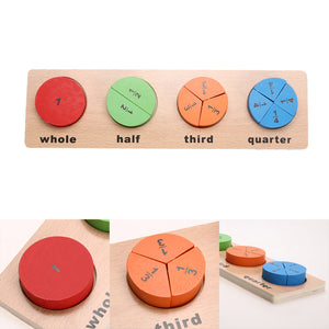 Wooden Geometry Puzzle By Our Smarter Toddlers
