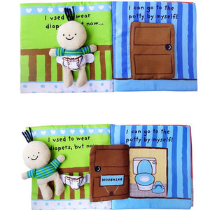 It's Bath Time - Cloth book for baby & toddler By Our Smarter Toddlers
