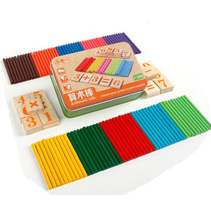 Montessori Mathematics Counting kit By Our Smarter Toddlers