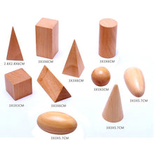 Geometric Wooden Blocks