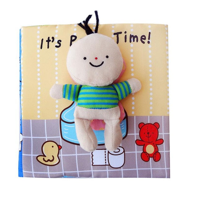 It's Bath Time - Cloth book for baby & toddler