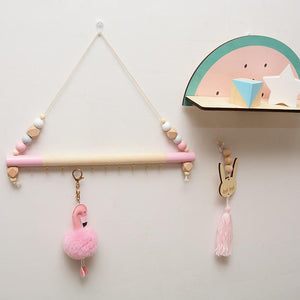 Wood Nursery Room Wall Hanger By Our Smarter Toddlers