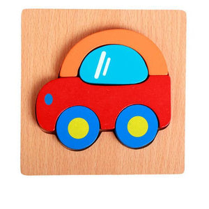 Wooden 3D Puzzle By Our Smarter Toddlers