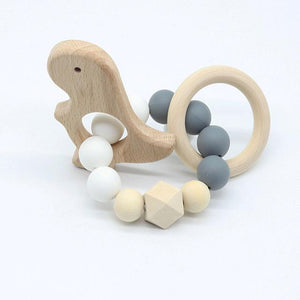 Wooden Teething Animals