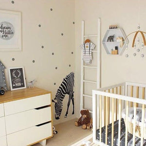 Wooden Beads Mobile for Baby's Room By Our Smarter Toddlers