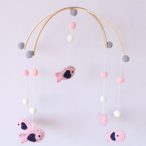 Wooden Mobile for Baby By Our Smarter Toddlers