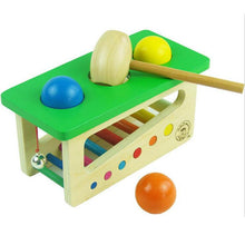 Wooden Sound Knocks Beat Balls Montessori Toy By Our Smarter Toddlers