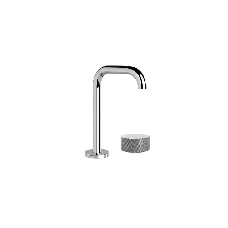 Halo X Basin Mixer Set with Square Swivel Spout