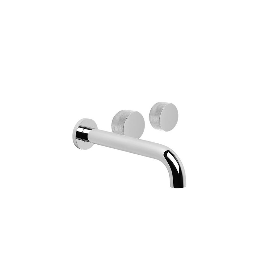 HALO X Wall Set Offset Taps With 200mm Spout