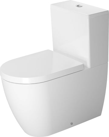 Duravit Me by Starck BTW Toilet Suite - Includes Pan, Cistern, Seat & Connector