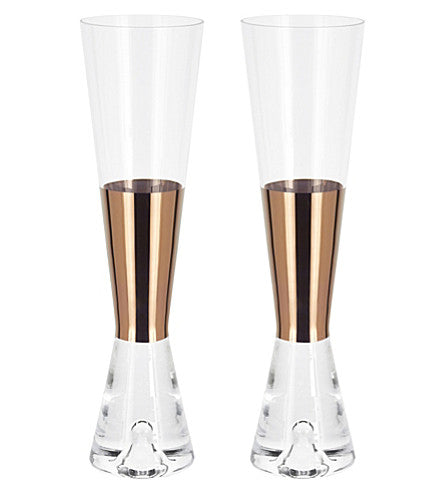 TOM DIXON Champagne Glasses