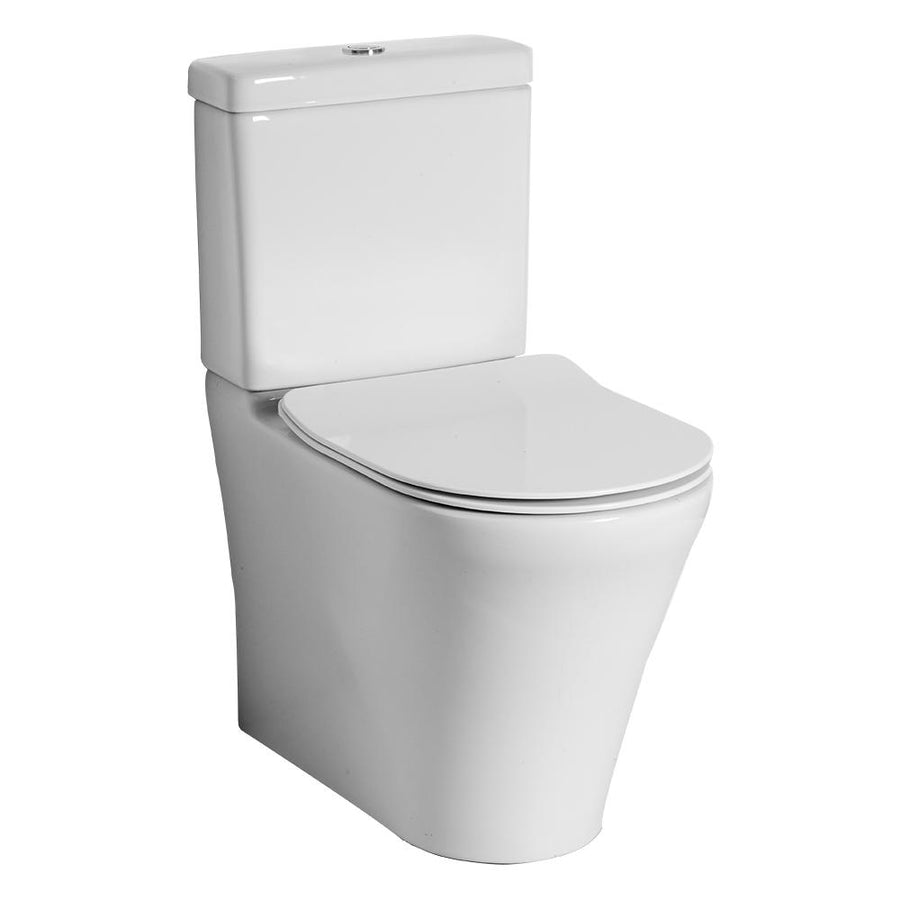 Villeroy & Boch O.novo DirectFlush BTW With Slim Seat Toilet