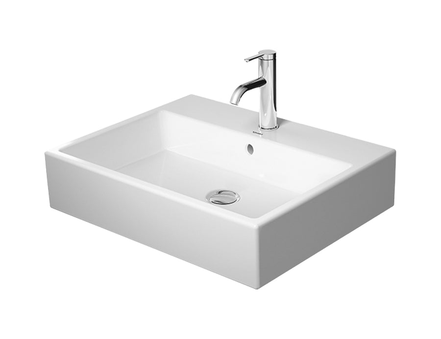 DURAVIT Vero Air Furniture Washbasin 600x470mm, with O/F, Glazed Underneath, Alpin White | The Source - Bath • Kitchen • Homewares