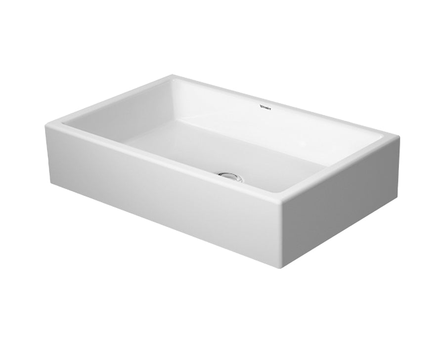 DURAVIT Vero Air Washbowl 600x380mm NTH, no O/F, Ground, Alpin White | The Source - Bath • Kitchen • Homewares