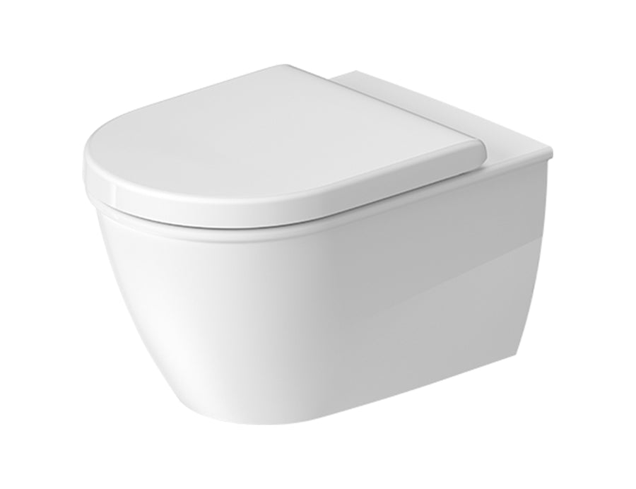 Duravit Darling New Rimless Wall Mounted Toilet Kit - Includes Pan & Seat