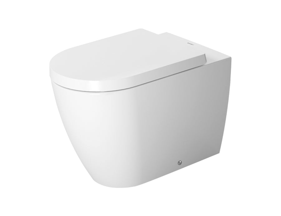 Duravit Me by Starck Floorstanding Toilet Kit - Includes Pan, Seat & Connector