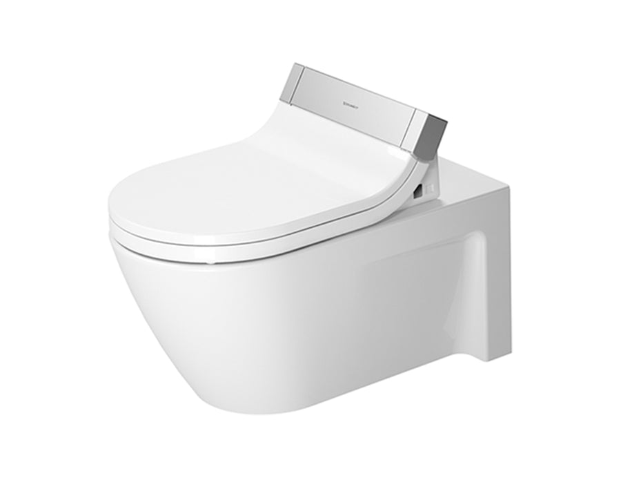 Durvait Starck 2 Sensowash E Wall Mounted Toilet Kit - Includes Pan & Seat