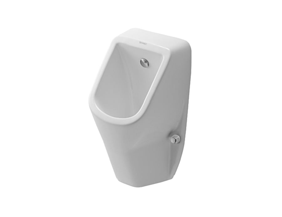 DURAVIT D-Code Urinal Concealed Inlet, incl. Jet Nozzle, Inlet Set, Waste, Trap & Fixings | The Source - Bath • Kitchen • Homewares