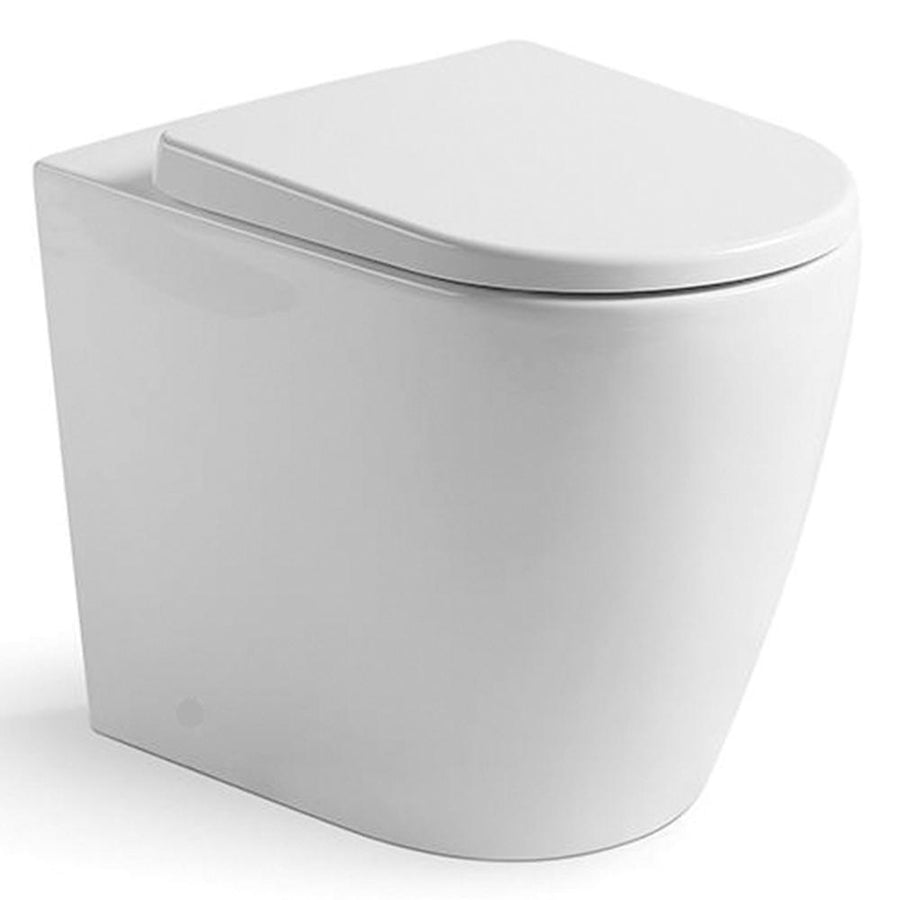 Argent Grace HygienicFlush Wall Faced Toilet