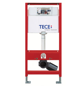 TECE Wall hung cistern 1120mm 4.5/3 litre flush WELS 4 Star