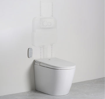 ARGENT Evo Wall Faced Smart Toilet System | The Source - Bath • Kitchen • Homewares