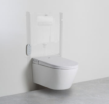 ARGENT Evo Wall Hung ViSmart Toilet System | The Source - Bath • Kitchen • Homewares