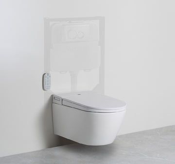 ARGENT Evo Wall Hung Smart Toilet System | The Source - Bath • Kitchen • Homewares