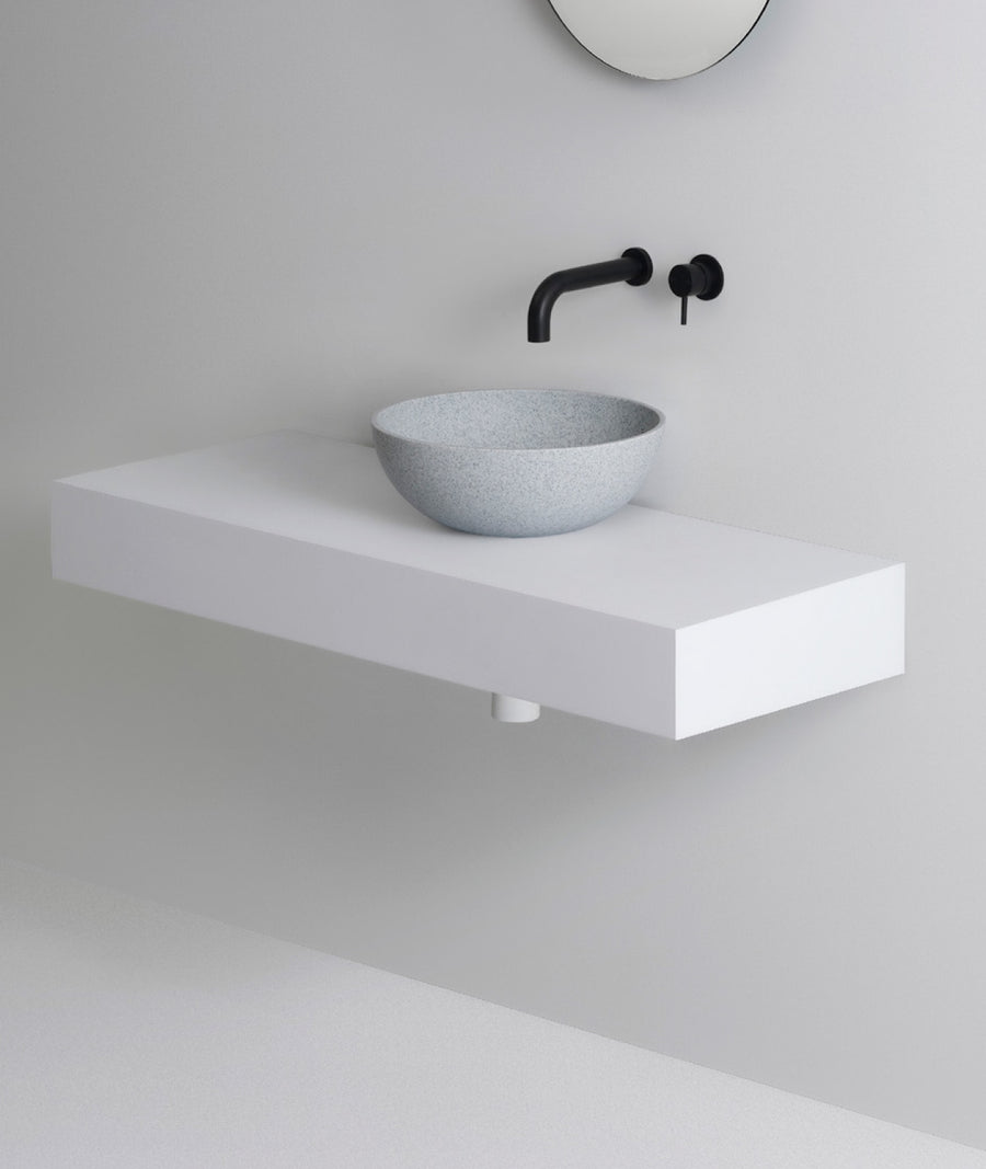 UNITED PRODUCTS Cup Basin - Available in colors: Matt White, Matt Sand, and Matt Sand Grey | The Source - Bath • Kitchen • Homewares