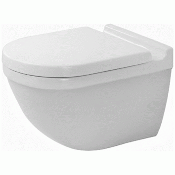Duravit Starck 3 RIMLESS® Wall Mounted Toilet