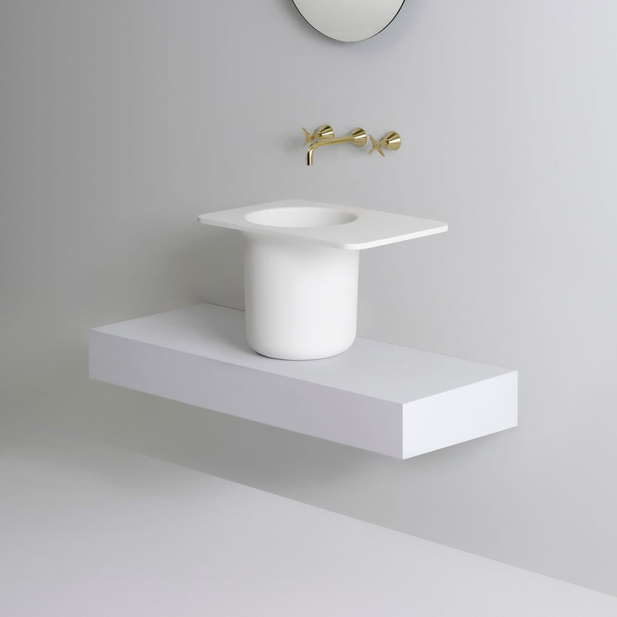 UNITED PRODUCTS Ledge Basin by: Thomas Coward Studio | The Source - Bath • Kitchen • Homewares