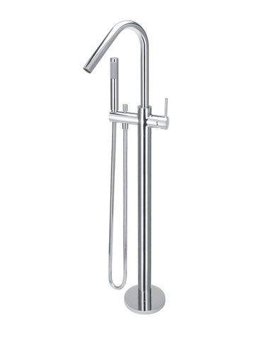 Meir Round Freestanding Bath Spout and Hand Shower