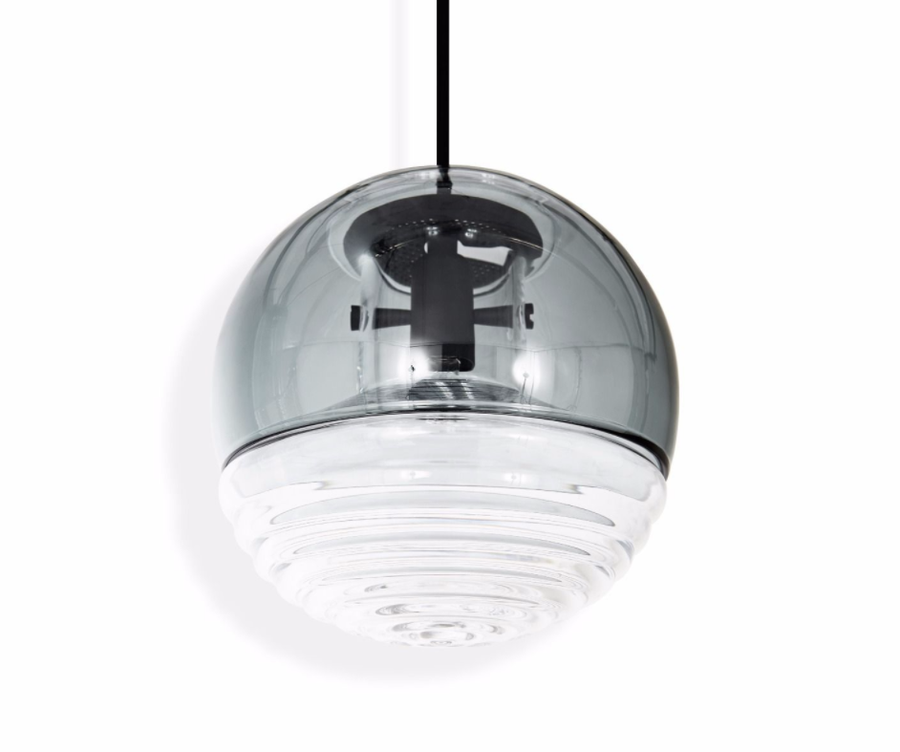 TOM DIXON Flask Ball Pendant Smoke