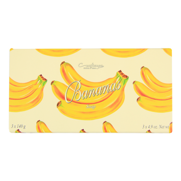 Confianca since 1894 BANANA SOAP, 3X140G