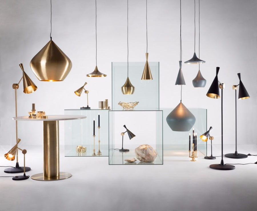 TOM DIXON Beat Fat Brushed Pendant EU | The Source - Bath • Kitchen • Homewares