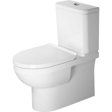Duravit Durastyle Basic Rimless BTW Toilet Suite - Includes Pan, Cistern, Seat & Connector